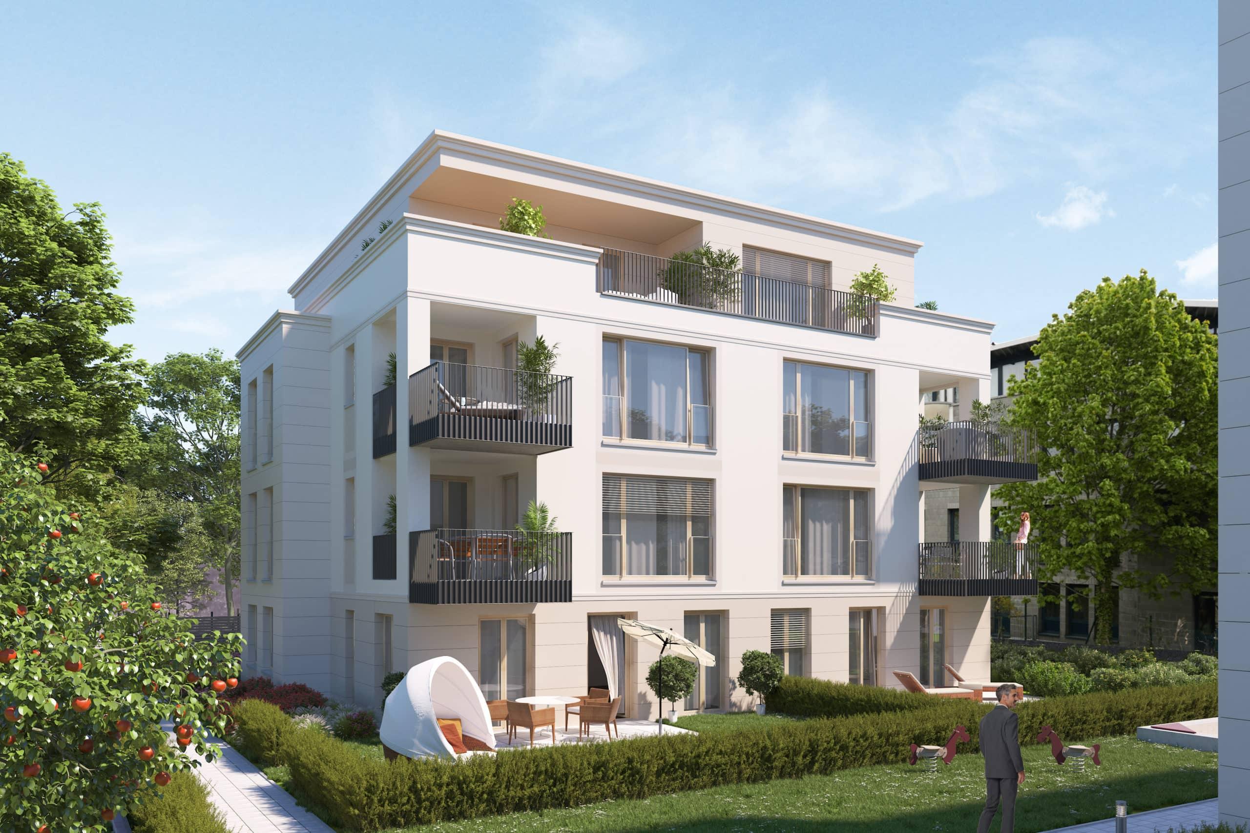 Bild Eigentumswohnung Heubnerstr. 18 a, b – Wohnung 01 mit Garten 1